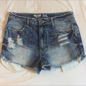 Mossimo Supply Co. Shorts - 🎉HP 🎉 MOSSIMO distressed high waisted short